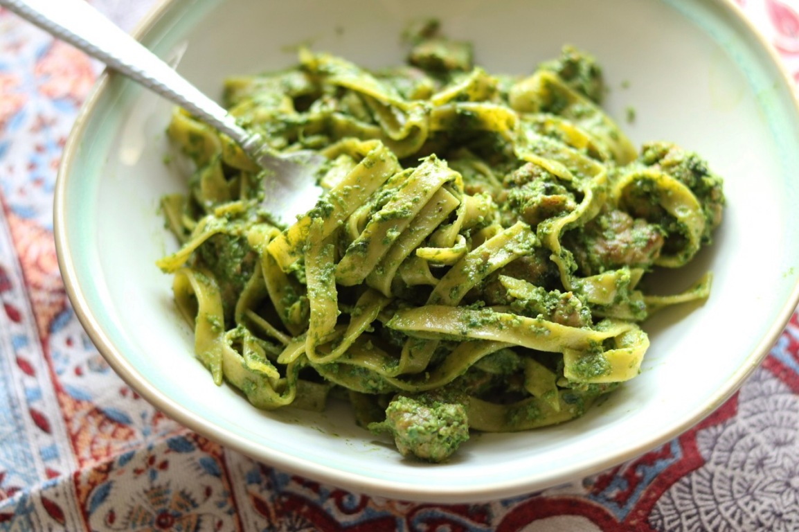 Eat Your Greens Pasta. Kid Friendly Dinner Made in 20.