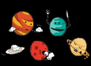 Malou Zuidema - Global Gastronauts - Planets
