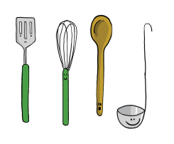 Malou Zuidema - Global Gastronauts - Utensils