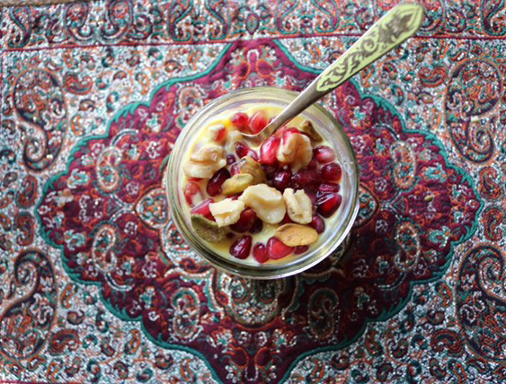 Persian Inspired Yogurt Parfait